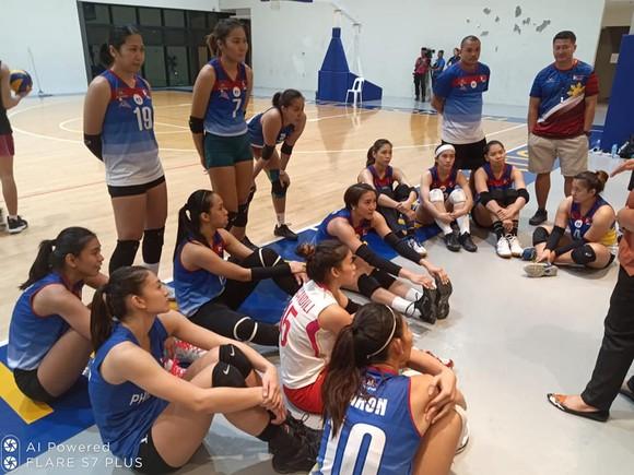 Đội tuyển Philippines tập luyện chuẩn bị cho SEA Games 30.