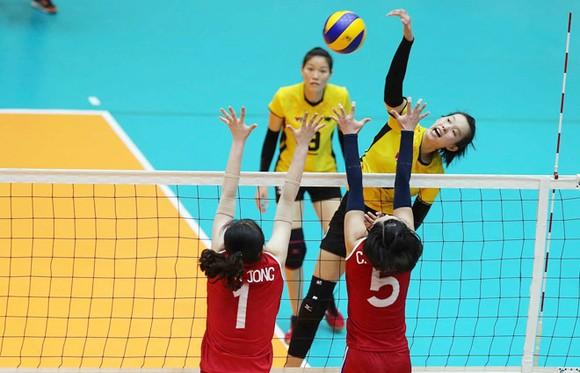 Chủ công Trần Thị Thanh Thuý (đập bóng) sẽ không thi đấu cho VTV BĐLA ở vòng 1 giải VĐQG 2020.