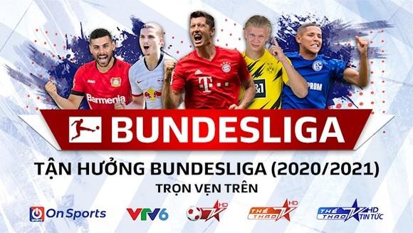 Giải Bundesliga sẽ được phát sóng trực tiếp trên nhiều kênh truyền hình tại Việt Nam. Ảnh: Next Media