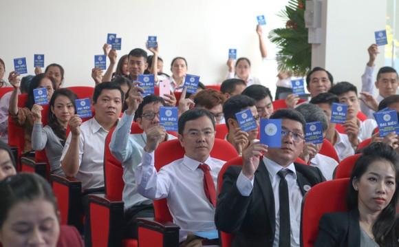 Ông Châu Vĩnh Huy được bầu làm Chủ tịch Liên đoàn Thể dục TPHCM ảnh 1