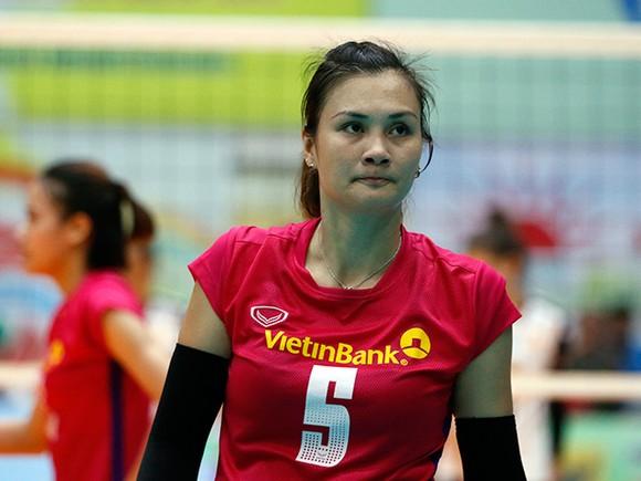Vòng 2 Giải bóng chuyền VĐQG 2020: Kim Huệ và Đoàn Thị Xuân trở lại đội hình Ngân hàng Công thương ảnh 1