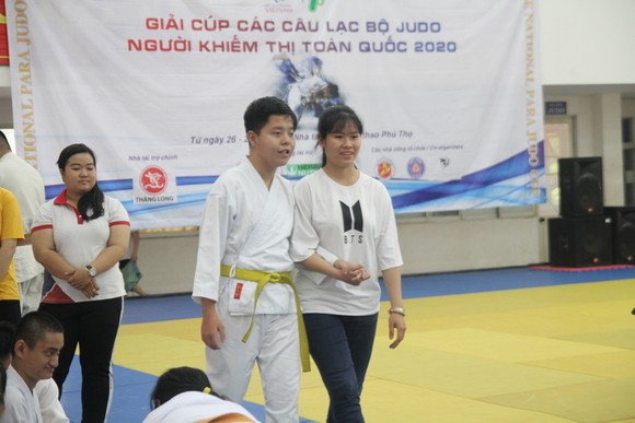 Judo người khiếm thị hướng đến ASEAN Para Games 2021 ảnh 1