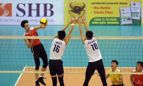 Cúp bóng chuyền Hoa Lư - Bình Điền 2021: VTV Bình Điền Long An và Tràng An Ninh Bình thắng dễ ảnh 3