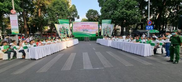 Lễ phát động diễn ra vào sáng ngày 28-3.