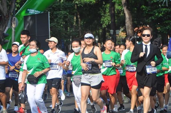 Sôi động Ngày chạy Olympic vì sức khỏe toàn dân năm 2021 ảnh 2
