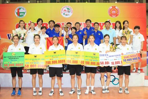 Cúp bóng chuyền Hùng Vương 2021: S.Khánh Hòa bảo vệ thành công danh hiệu ảnh 3