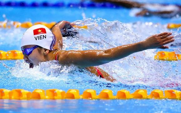 Kình ngư Nguyễn  Ánh Viên lại chờ thêm thời gian để tranh suất Olympic. Ảnh: DŨNG PHƯƠNG