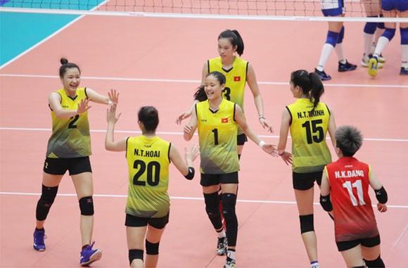 Đội tuyển bóng chuyền nữ Việt Nam. Ảnh: VTV