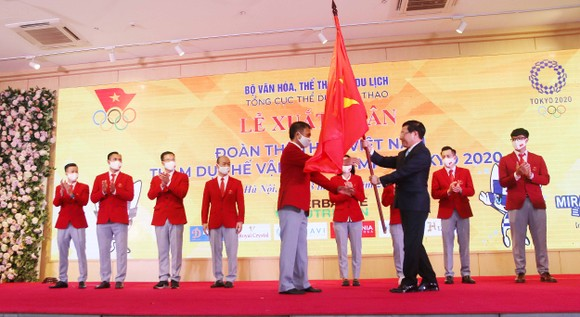 Thủ tướng Chính phủ Phạm Minh Chính động viên Đoàn thể thao Việt Nam tham dự Olympic Tokyo 2020 ảnh 2