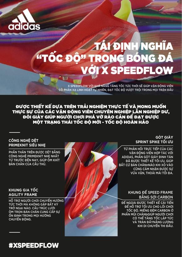 """adidas chính thức ra mắt """"vua tốc độ sân cỏ"""" X SpeedFlow ảnh 1"""