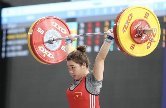 Hoàng Thị Duyên được đánh giá là tiềm năng giành huy chương cho Đoàn thể thao Việt Nam tại Olympic Tokyo 2020. Ảnh: DŨNG PHƯƠNG