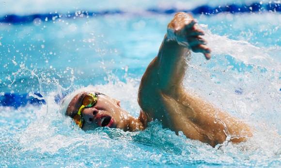 Nguyễn Huy Hoàng không thể tham dự đợt bơi chung kết 800m tự do nam.