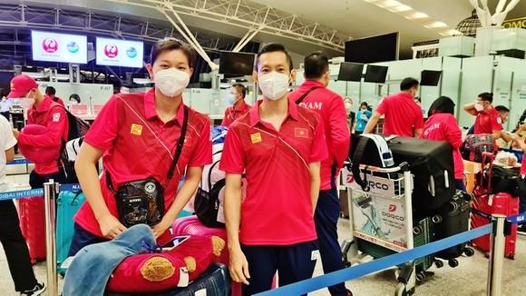 Các tuyển thủ Việt Nam hoàn thành thời gian cách ly và sẽ trở về địa phương tiếp tục tập luyện.