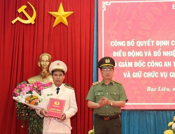 Phó Giám đốc Công an tỉnh Bình Thuận làm Giám đốc Công an tỉnh Bạc Liêu ảnh 1