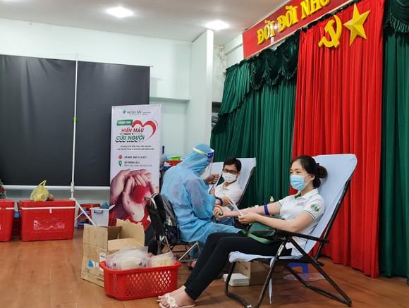 Hiến máu tình nguyện tại Bệnh viện Hoàn Mỹ Minh Hải