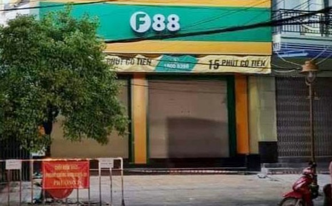 Phong tỏa khu vực hệ thống chuỗi cầm đồ F88 trên đường Trần Phú, TP Bạc Liêu
