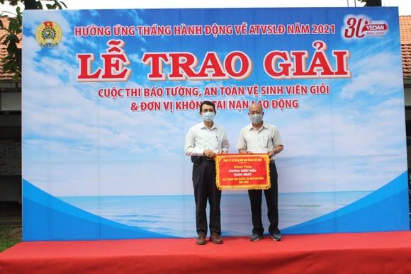 Vedan Việt Nam tổng kết trao giải các hoạt động hưởng ứng Tháng an toàn vệ sinh lao động 2021 ảnh 2