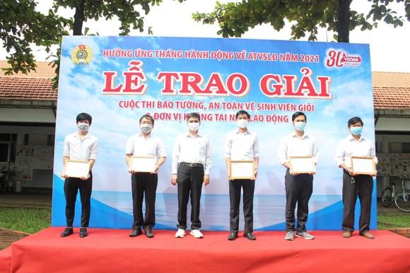 Vedan Việt Nam tổng kết trao giải các hoạt động hưởng ứng Tháng an toàn vệ sinh lao động 2021 ảnh 1