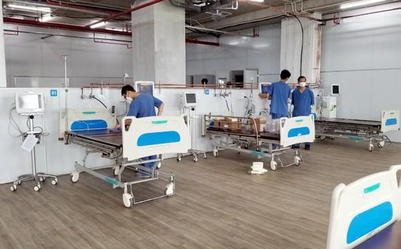 Hơn 20 ngày thần tốc cải tạo Trung tâm hồi sức tích cực người bệnh Covid -19 ảnh 3