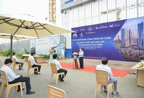 Tái khởi động dự án Khu phức hợp Sóng Việt – The Metropole Thủ Thiêm ảnh 2