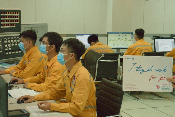 Công ty Khí Cà Mau chống dịch triệt để, sản xuất an toàn ảnh 1