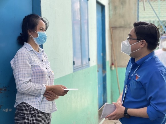 Thêm 7.500 túi thuốc điều trị được Masterise Group trao tay F0 tại TPHCM ảnh 4