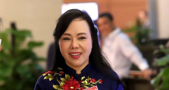 Quốc hội tiến hành phê chuẩn việc miễn nhiệm Bộ trưởng Y tế Nguyễn Thị Kim Tiến ảnh 1