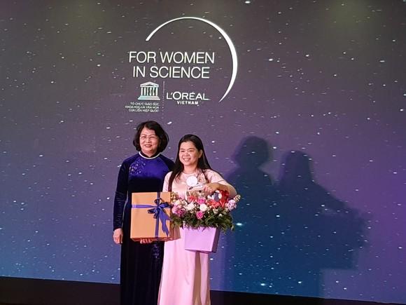 3 nhà khoa học nữ xuất sắc năm 2019 nhận Giải thưởng L'Oréal – UNESCO ảnh 4
