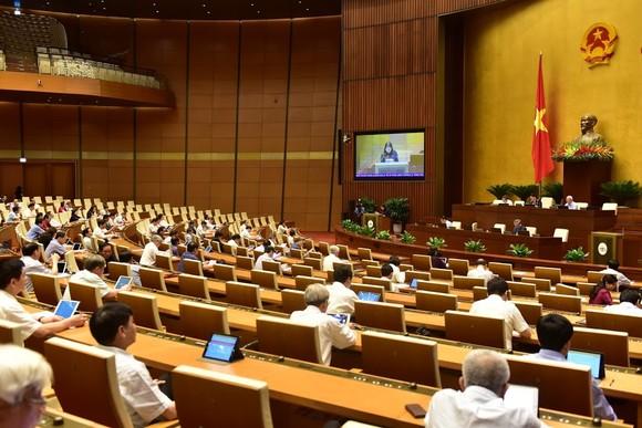Toàn cảnh phiên họp Quốc hội. Ảnh: QUANG PHÚC