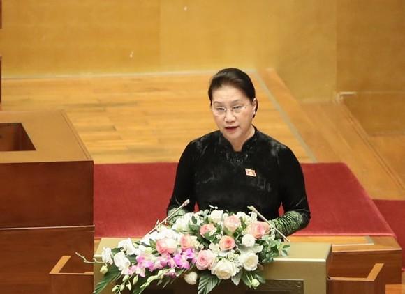 Bế mạc kỳ họp họp thứ 10, Quốc hội khóa XIV: Quốc hội kêu gọi phát huy mạnh mẽ tinh thần dân tộc ảnh 1