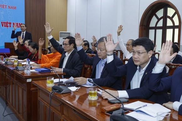 2 cá nhân tiêu biểu được Mặt trận Trung ương giới thiệu ứng cử Đại biểu Quốc hội khóa XV   ảnh 1