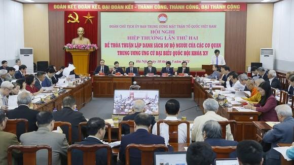 Hội nghị MTTQ Việt Nam ngày 18-3