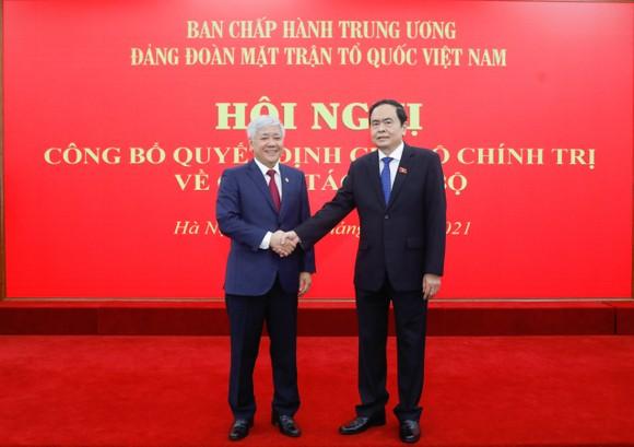 Đồng chí Đỗ Văn Chiến giữ chức Bí thư Đảng đoàn MTTQ Việt Nam ảnh 2