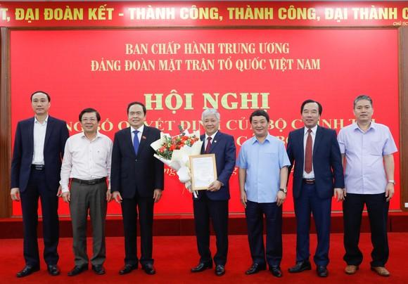 Đồng chí Đỗ Văn Chiến giữ chức Bí thư Đảng đoàn MTTQ Việt Nam ảnh 3