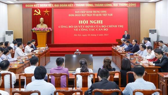 Đồng chí Đỗ Văn Chiến giữ chức Bí thư Đảng đoàn MTTQ Việt Nam ảnh 1