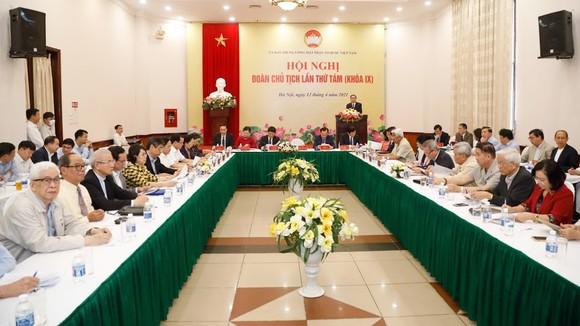 Hội nghị Đoàn Chủ tịch Ủy ban Trung ương MTTQ Việt Nam