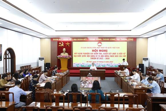 Hội nghị tổng kết công tác giám sát bầu cử