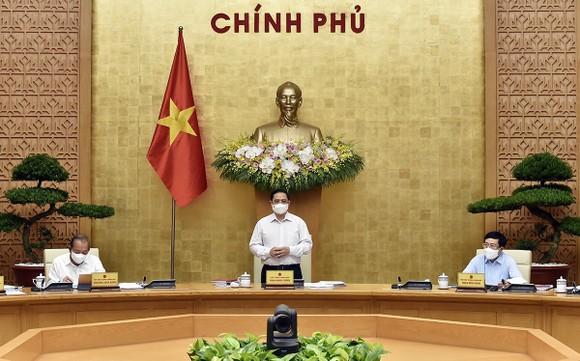 """Họp Chính phủ thường kỳ, Thủ tướng Phạm Minh Chính yêu cầu: """"Nghĩ thật, nói thật, làm thật, hiệu quả thật"""" ảnh 2"""