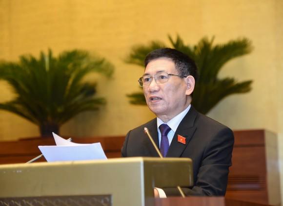 Bộ trưởng Bộ Tài chính nhiệm kỳ 2016-2021 Hồ Đức Phớc. ẢNH: QUANG PHÚC