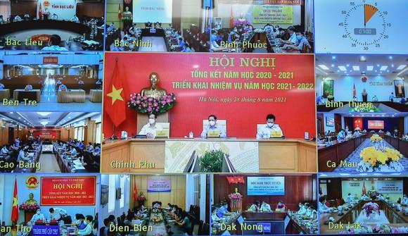 Hội nghị tổng kết năm học 2020-2021 và triển khai nhiệm vụ năm học 2021-2022 diễn ra sáng 28-8