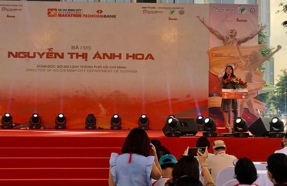 Khởi động Giải Marathon quốc tế TPHCM Techcombank  ảnh 1