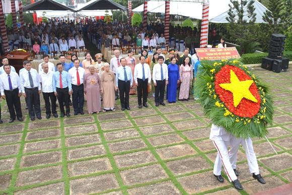 Họp mặt truyền thống Chiến khu An Phú Đông - Tri ân người ngã xuống bằng cách làm cho đất nước đi lên ảnh 1