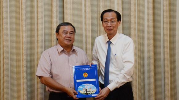 Quyền Chủ tịch UBND quận 3 tới nhận công tác tại Thành ủy TPHCM ảnh 1