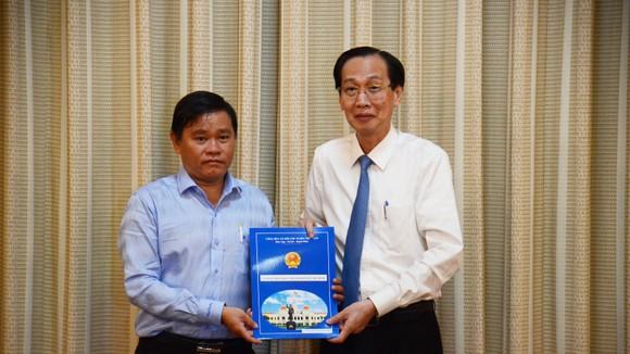 Quyền Chủ tịch UBND quận 3 tới nhận công tác tại Thành ủy TPHCM ảnh 3