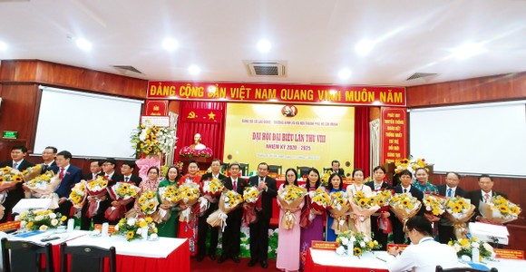 Đồng chí Lê Minh Tấn tái đắc cử Bí thư Đảng ủy Sở LĐTB-XH TPHCM  ảnh 2