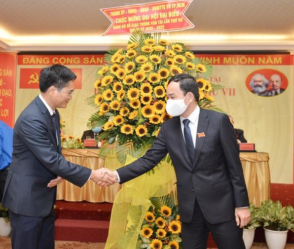 Đồng chí Trần Quang Lâm tái đắc cử Bí thư Đảng ủy Sở GTVT TPHCM ảnh 2