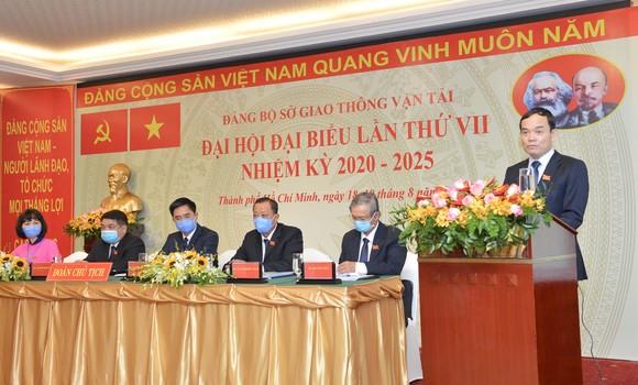 Đồng chí Trần Quang Lâm tái đắc cử Bí thư Đảng ủy Sở GTVT TPHCM ảnh 1