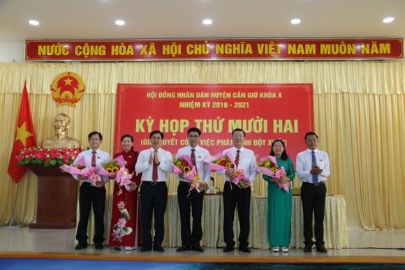 Ông Nguyễn Văn Hồng làm Chủ tịch UBND huyện Cần Giờ ảnh 1