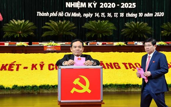 Bỏ phiếu bầu Ban Chấp hành Đảng bộ TPHCM khóa XI ảnh 3