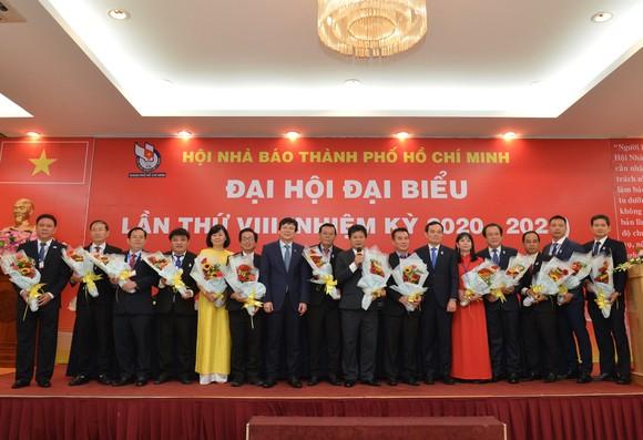 Nhà báo Trần Trọng Dũng tái đắc cử Chủ tịch Hội Nhà báo TPHCM ảnh 2